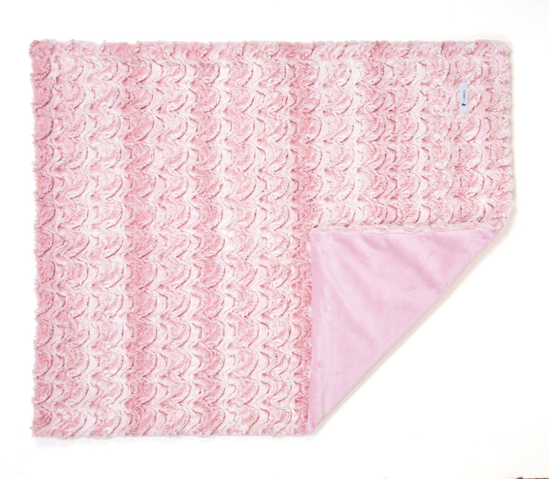 Rosewater & White Luxe Cuddle Blanket