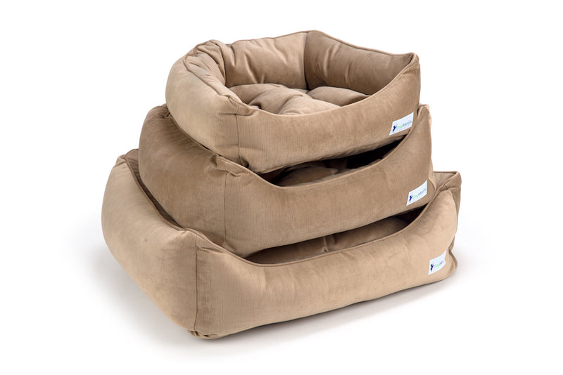 Latte Dreamer Bed Stack | DogMania Dog Bed
