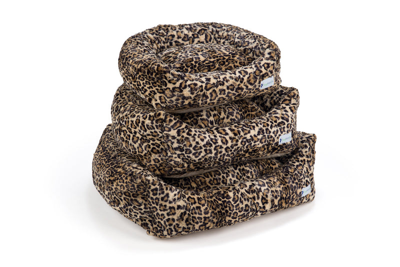 Leopard Sand DayDreamer Stack | DogMania Dog Bed