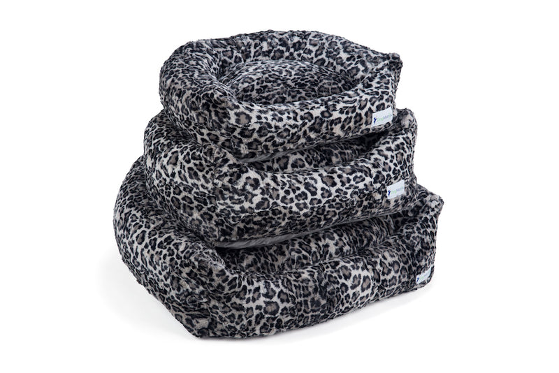 Leopard Steel DayDreamer Stack | DogMania Dog Bed