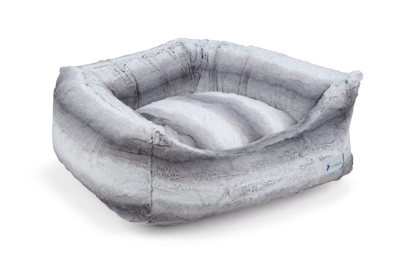 Charcoal Gray Pillow Bed