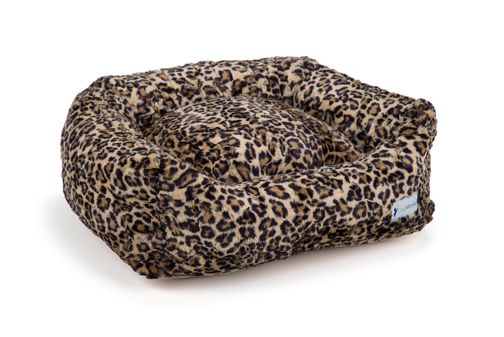 Leopard Sand DayDreamer Dog Bed | DogMania Dog Bed