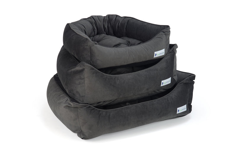 Charcoal Dreamer Bed