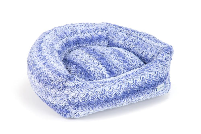 Midnight Blue Pillow Bed
