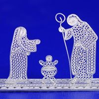 Filigree Nativity