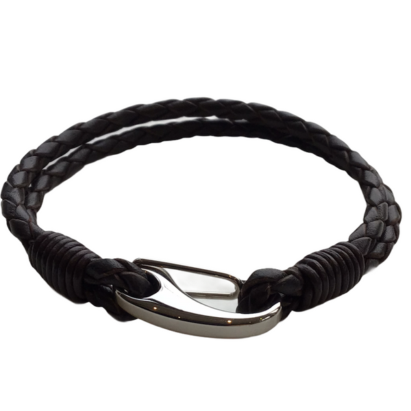 Men's Double Leather Bracelet