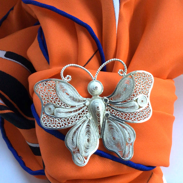 Queen Butterfly Brooch