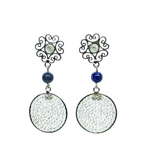 Filigree Maia Earrings - Agora Jewellery London