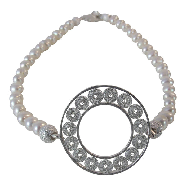 Pearls Bracelet - Agora Jewellery London