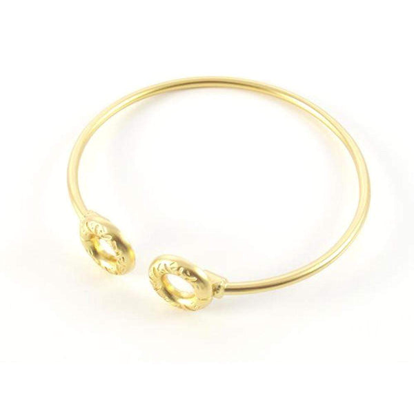 Gold Bangle Bracelets - AG Agora Jewellery London