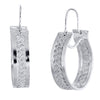 Filigree Hoop Earrings - Agora Jewellery London