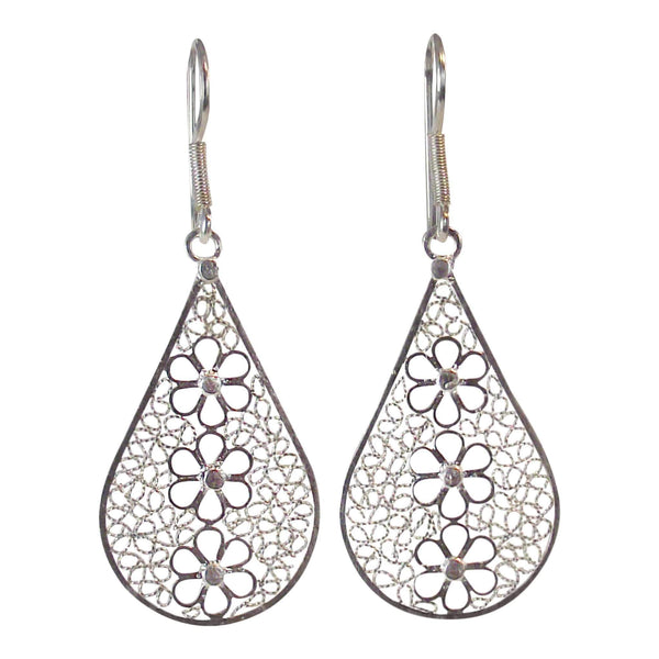 Tear Drop Earrings - Agora Jewellery London