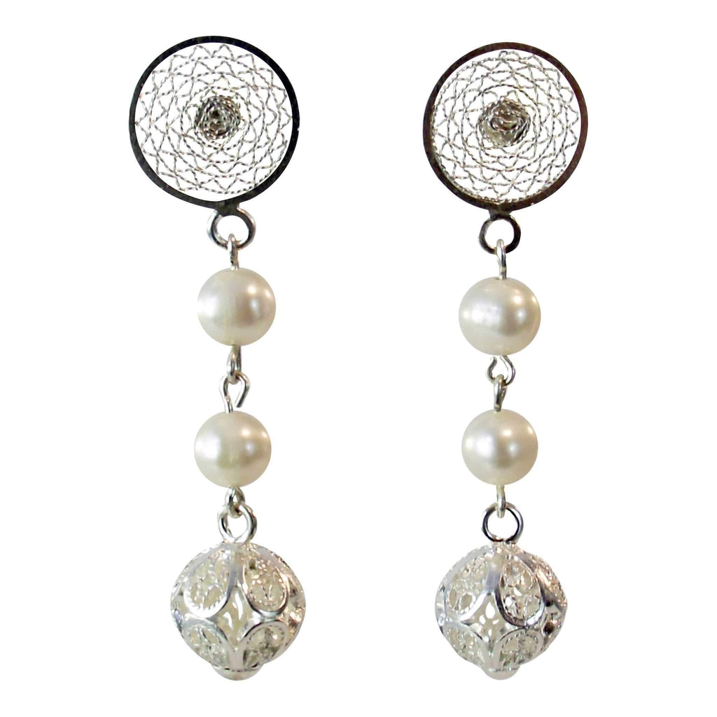 Vincenza Earrings - Agora Jewellery London