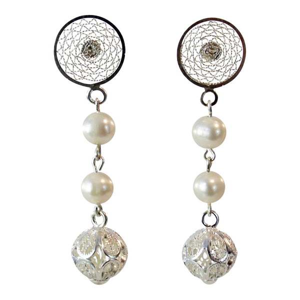 Agora Earrings Filigree Vincenza Earrings Vincenza Earrings