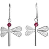 Dragonfly Swarovski  Earrings - AG Agora Jewellery London