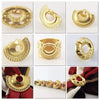 Scarf Rings - Agora Jewellery London