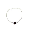 Agora Jewellery London Bracelet Amathyst Single Stone Bracelets
