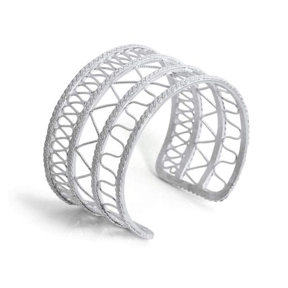 Filigree Magdalena Cuff - AG Agora Jewellery London