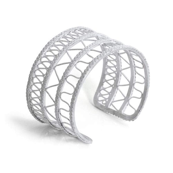 Filigree Magdalena Cuff - Agora Jewellery London