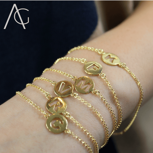 Initials Bracelets - Agora Jewellery London