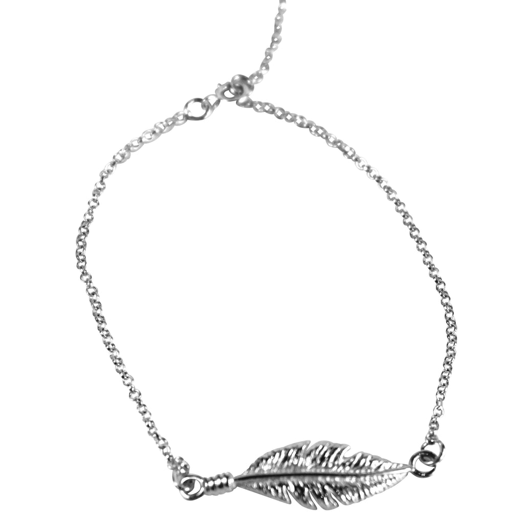 Leaf Bracelet - Agora Jewellery London