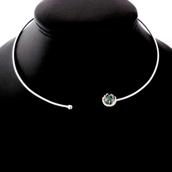 Emerald Choker - Agora Jewellery London