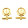 Coffee Bean Cufflinks - Agora Jewellery London
