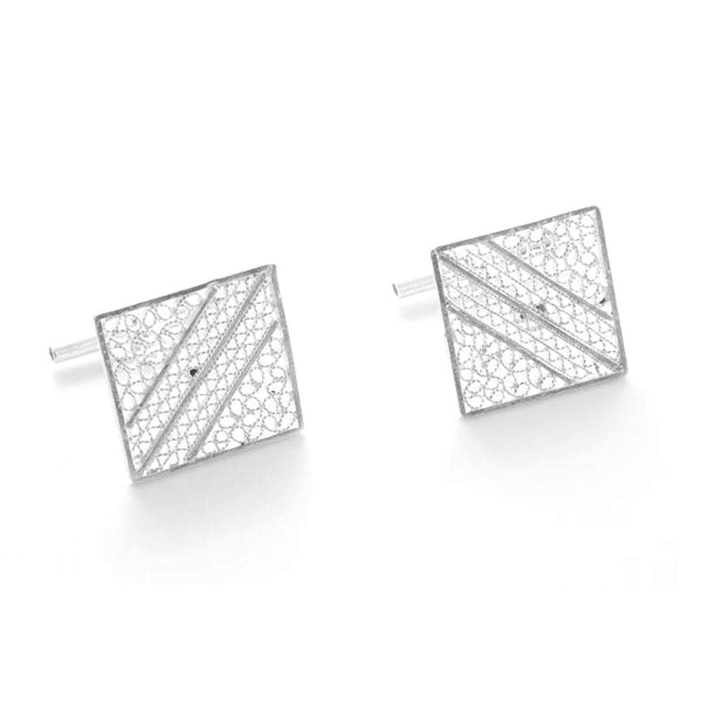 Filigree Bon Cufflinks - Agora Jewellery London