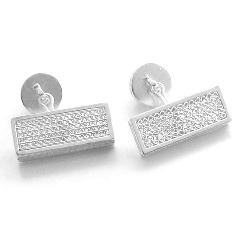 Filigree Empire Cufflinks - Agora Jewellery London