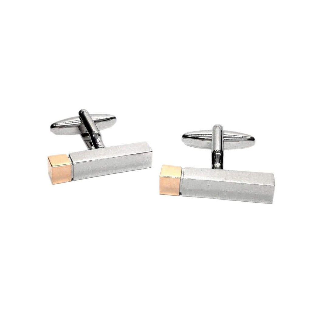 Rectangular Cufflinks - Agora Jewellery London