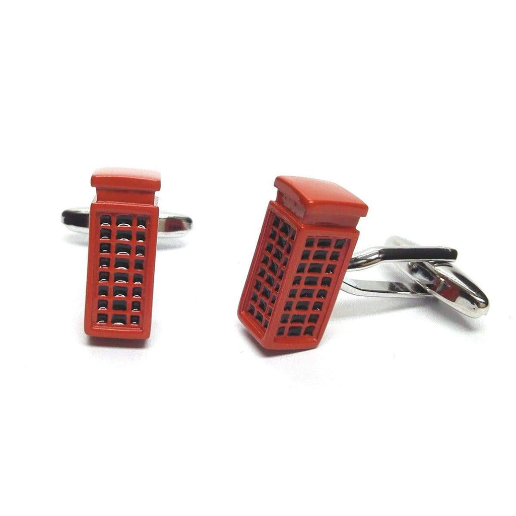 Telephone Box Cufflinks - Agora Jewellery London