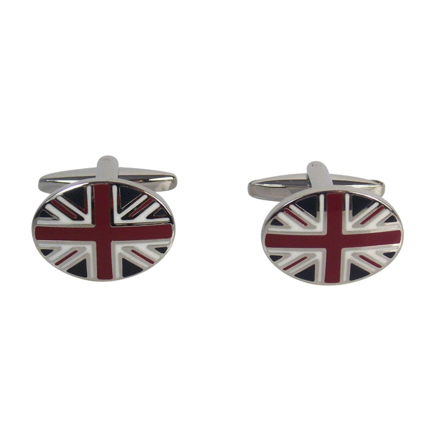 Union Jack Cufflinks - Agora Jewellery London