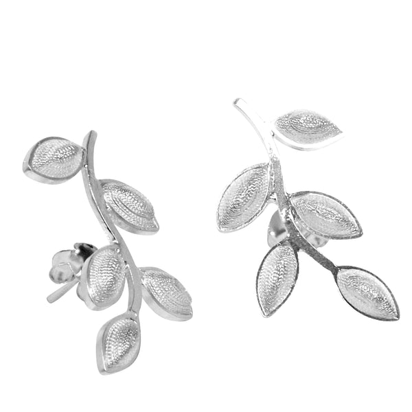 Filigree Serena Earrings - Agora Jewellery London