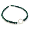 Filigree Jade Necklace - Agora Jewellery London