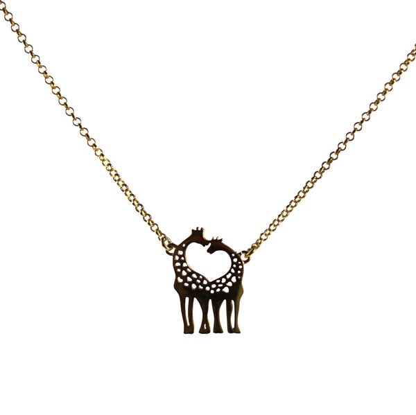 Giraffe Necklace - Agora Jewellery London