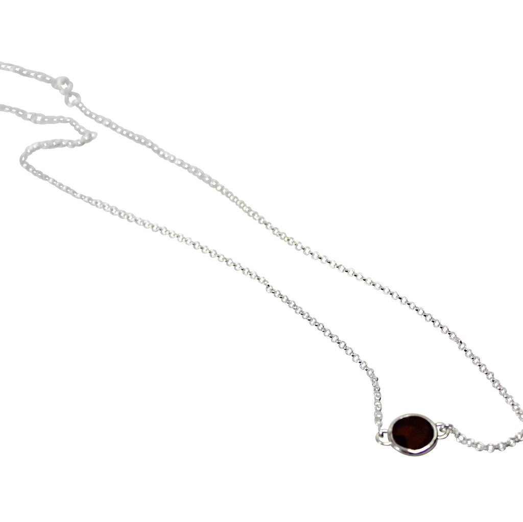 Single Stone Necklaces - Agora Jewellery London