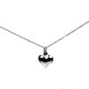 Love Heart Necklace - Agora Jewellery London