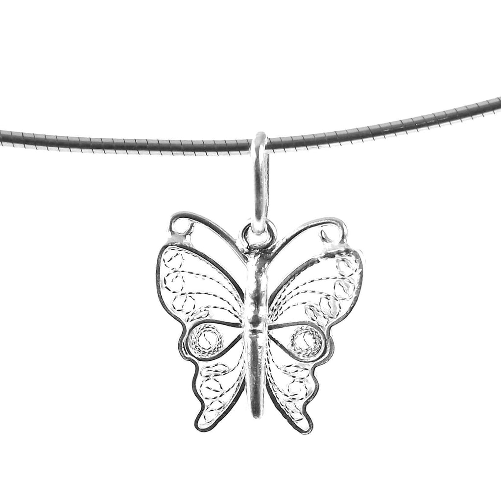 Clare Butterfly Pendant - Agora Jewellery London