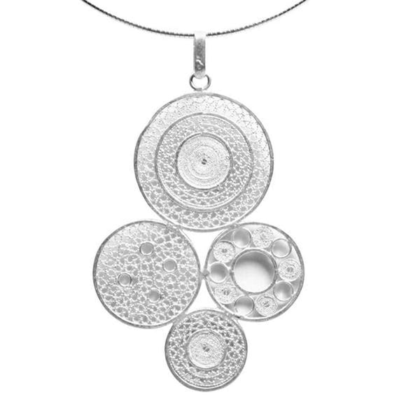 Filigree Aylen Pendant - Agora Jewellery London