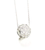Filigree Snowflake Pendant - Agora Jewellery London