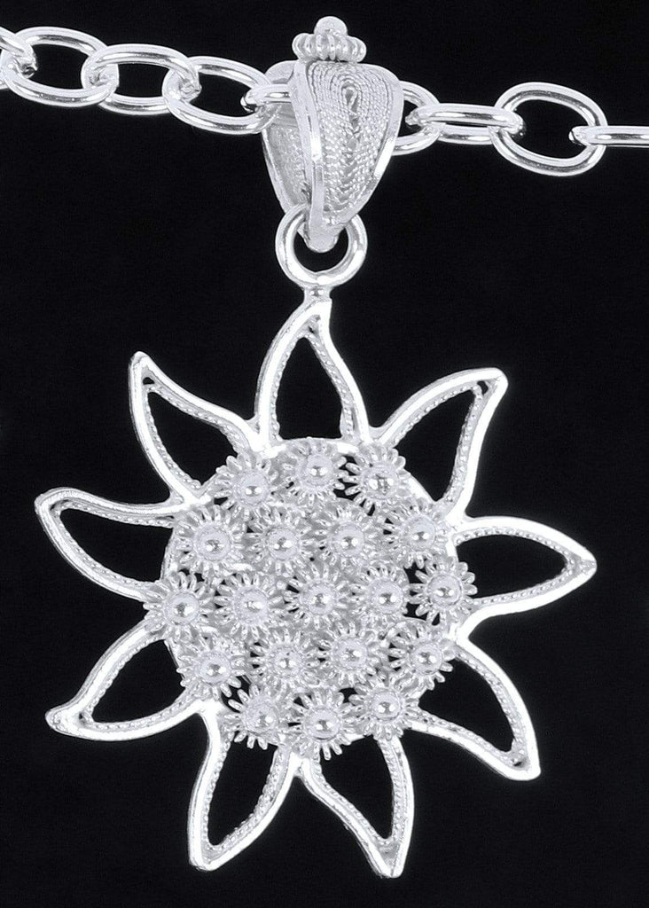 Agora Jewellery London Pendant Filigree Sun Pendant Filigree Sunny Pendant