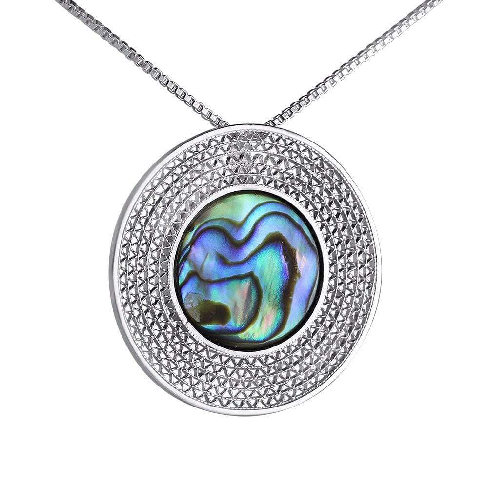 Green Moon Pendant - AG Agora Jewellery London