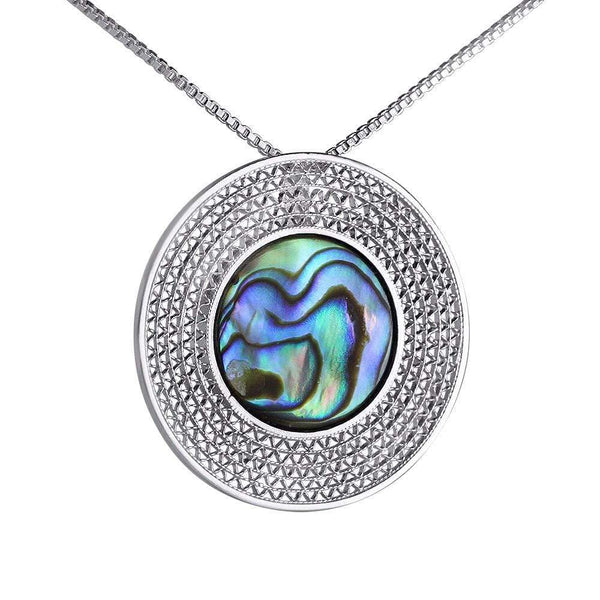Green Moon Pendant - Agora Jewellery London