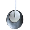 Grey and Silver Pendant - Agora Jewellery London