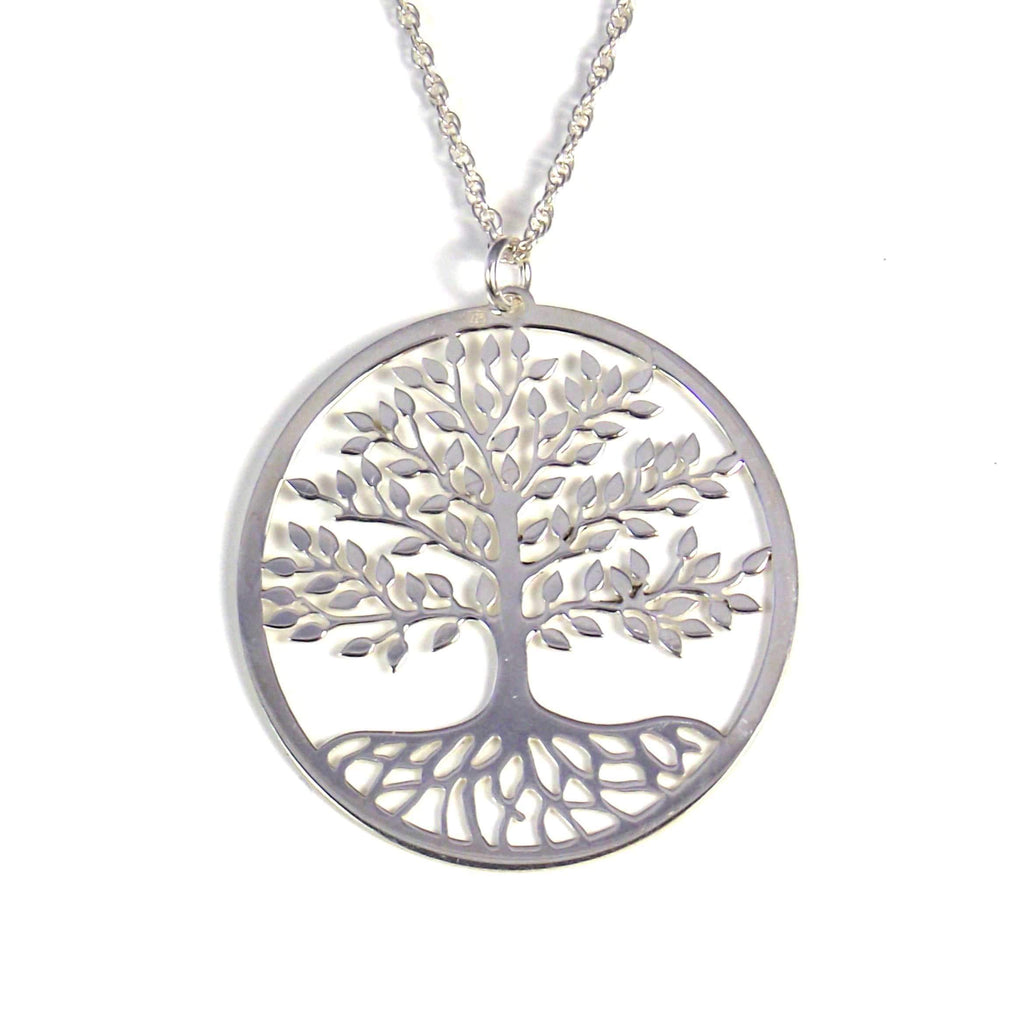 Silver Tree of Life Pendant - Agora Jewellery London