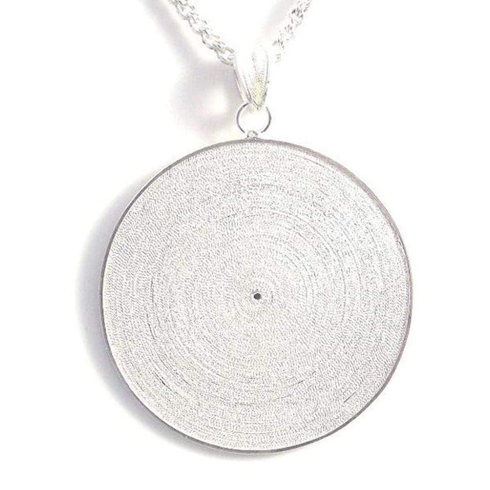 Tambourine Pendant - AG Agora Jewellery London