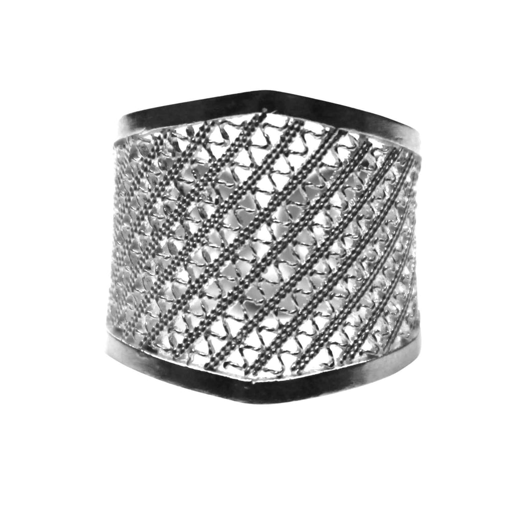 Filigree Lynn Ring - Agora Jewellery London