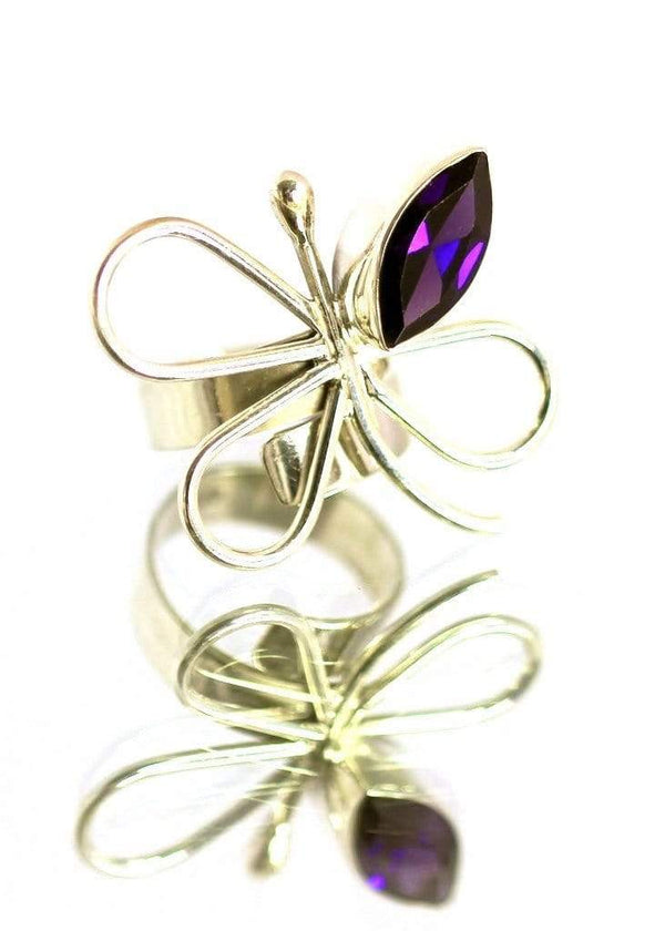 Butterfly Ring - Agora Jewellery London
