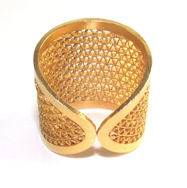 Filigree Bianca Ring - AG Agora Jewellery London