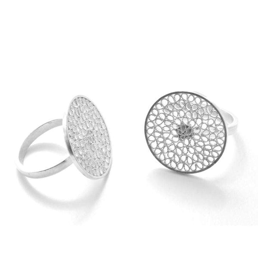 Agora Jewellery London Rings Filigree Carol Ring